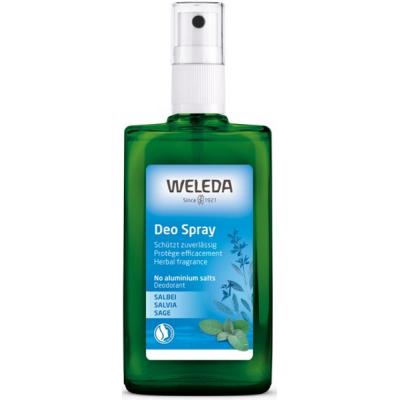 Weleda Déodorant à la sauge 100 ml  déodorant bio les copines bio