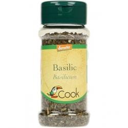 Cook Basilic feuilles 15gr Condiment alimentaire Les Copines Bio