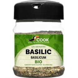 Cook Basilic feuilles 30gr Condiment alimentaire Les Copines Bio