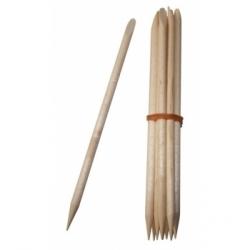 Avril Beauté Bâtonnets repousse cuticules en bois x10 accessoire de maquillage des ongles Les Copines Bio