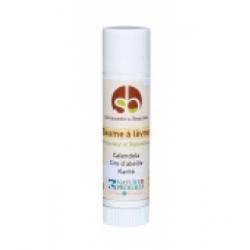 Savonnerie de Beaulieu Baume à lèvres karité et calendula 4,5g produit de soin des lèvres Les Copines Bio