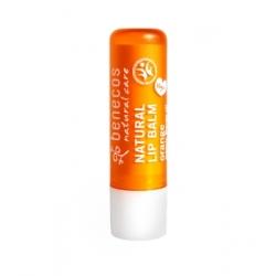 Benecos Baume à lèvres Orange 4g produit de cosmétique biologique Les Copines Bio
