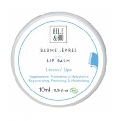 Belle et Bio Baume à lèvres Abricot pot 10ml produit de soin pour les lèvres certifié Les Copines Bio