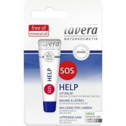 Lavera Baume à lèvres SOS 8ml produit de protection des Lèvres Les Copines Bio