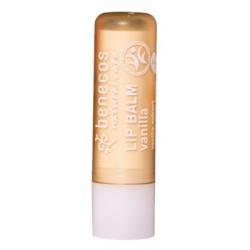 Benecos Baume à lèvres Vanille 4.0gr produit de cosmétique biologique Les Copines Bio