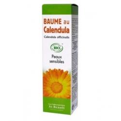 St-Benoit Baume au Calendula Bio 40gr produit de soin pour le visage et le corps bio Les Copines Bio
