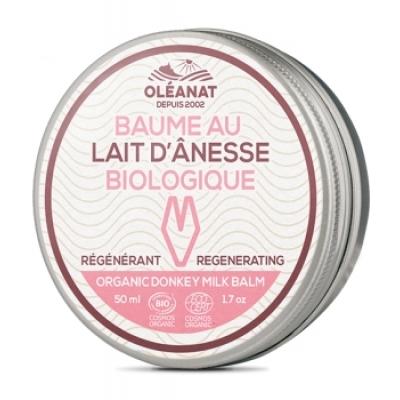 Oléanat Baume au lait d'ânesse régénérant 50ml produit de soin pour la peau Les Copines Bio