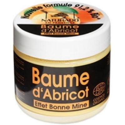 Naturado Baume d'Abricot cocktail d'actifs anti âge effet bonne mine 30ml produit de soin pour le visage et le corps Les Copines