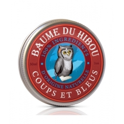 Les Baumes Du Hibou Baume de massage coups et bleus 30ml produit de soin apaisant Les Copines Bio