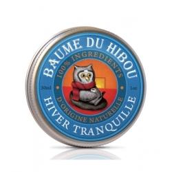 Les Baumes Du Hibou Baume de massage hiver tranquille 30ml produit de soin respiratoire Les Copines Bio