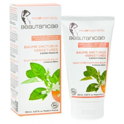 Beautanicae Baume onctueux Vergetures 5 zones fragiles 150ml produit de soin pour le corps Les Copines Bio