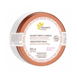 Fleurance Nature Baume pour le corps généreux nourrissant à l'Argan bio 150ml produit de soin visage et corps Les Copines Bio