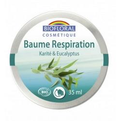 Biofloral Baume respiratoire Karité Eucalyptus 35ml produit de soin pour le corps Les Copines Bio