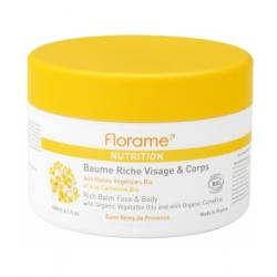 Florame Baume riche visage et corps 180ml produit de soin du visage et du corps Les Copines Bio