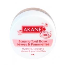 Akane Baume Tout rose lèvres et pommettes 12gr produit de soin de de maquillage bio Les Copines Bio