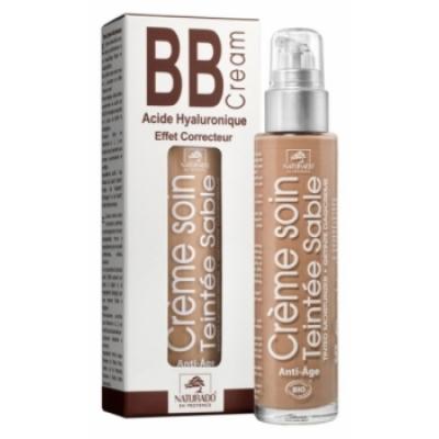 Naturado BB cream à l'Acide hyaluronique Sable 50ml produit de maquillage minéral pour le Teint Les Copines Bio