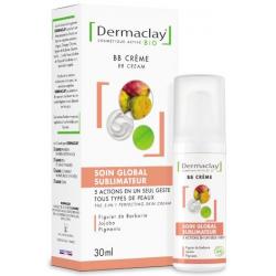 Dermaclay  BB crème 5 en 1 Soin global sublimateur peau parfaite 30ml produit de soin pour le visage (crème teintée) Les Copines