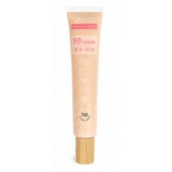 Zao Make-up BB Crème 760 Clair 30ml produit de maquillage minéral pour le Teint Les Copines Bio