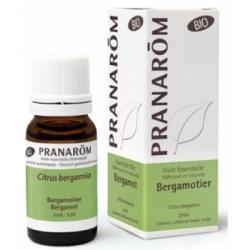 Pranarôm Bergamotier Bio Flacon compte gouttes 10ml produit d'aromathérapie bio Les Copines Bio