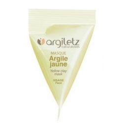 Argiletz Berlingot masque argile jaune 15ml produit de soin pour le visage Les Copines Bio