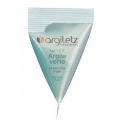 Argiletz Berlingot masque argile verte 15ml produit de soin pour le visage Les Copines Bio