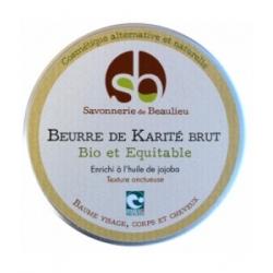 Savonnerie De Beaulieu Beurre de Karité Jojoba 100ml produit de soin pour le visage, le corps et les cheveux Les Copines Bio