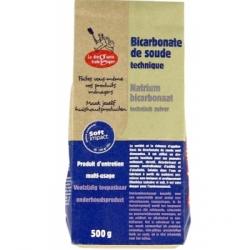 Droguerie Ecologique Bicarbonate de soude technique 500gr produit de nettoyage pour la maison Les Copines Bio