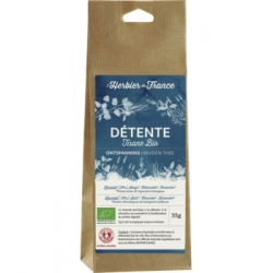 Herbier De France Détente infusion sachet Vrac 35gr produit d'herboristerie (alimentation) Les Copines Bio