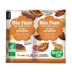 Natali Bioflan Praliné sans sucres ajoutés 10gr aliment pour préparation d'entremet Les Copines Bio