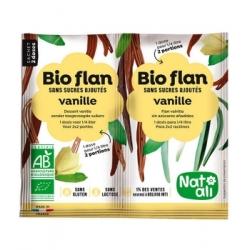 Natali Bioflan Vanille sans sucres ajoutés 8gr aliment pour préparation d'entremet Les Copines Bio