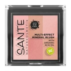 Sante Blush multi effets No 1 Coral 8gr produit de maquillage minéral pour le Teint Les Copines Bio