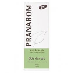 Pranarôm Bois de Rose Bio Flacon compte gouttes 10ml produit d'aromathérapie bio d'usage cosmétique Les Copines Bio