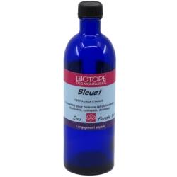 Biotope Des Montagnes Boisson d'Eau florale de Bleuet 200ml produit d'alimentation à base d'eau florale Les Copines Bio