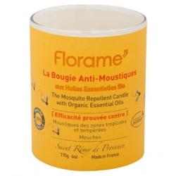 Florame Bougie anti moustiques et mouches 170gr bougie Anti-Moustiques et Anti-insectes Les Copines Bio