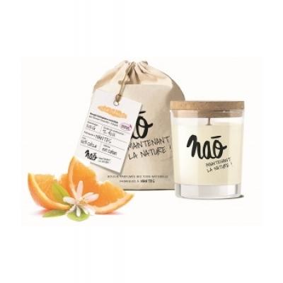 Nao Bougie Parfumée Naturelle Fleur d'oranger 200gr bougie parfumée d'intérieur Les Copines Bio