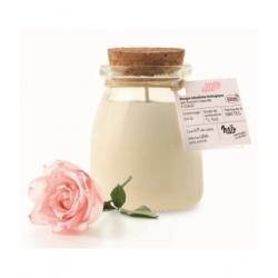 Nao Bougie Parfumée Naturelle Rose 120gr bougie parfumée d'intérieur Les Copines Bio