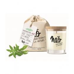 Nao Bougie Parfumée Naturelle Verveine 200gr bougie parfumée d'intérieur Les Copines Bio