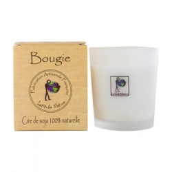 Latitude Nature Bougie votive Détente Sommeil huile essentielle Lavandin 75gr bougie parfumée d'intérieur Les Copines Bio