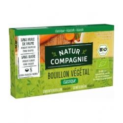 Natur Compagnie Bouillon cube végétal 84gr produit d'épicerie et d'aide culinaire Les Copines Bio