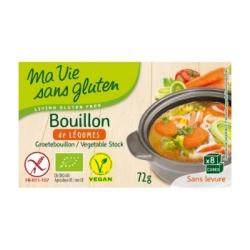 Ma Vie Sans Gluten Bouillon de Légumes 72gr produit d'épicerie et d'aide culinaire Les Copines Bio
