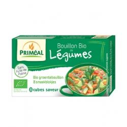 Primeal Bouillon de légumes en cube 72gr produit d'épicerie et d'aide culinaire Les Copines Bio