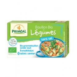 Primeal Bouillon de légumes sans sel en cube 72gr produit d'épicerie et d'aide culinaire Les Copines Bio