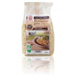 Celnat Boulgour Gros demi complet de blé dur 500gr Produit alimentaire d'Epicerie Les Copines Bio