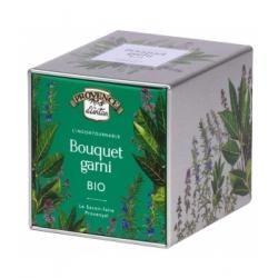 Provence D'Antan Bouquet garni bio coffret métal 16gr produit alimentaire à base de condiments, d'épices et d'aromates Les Copin