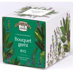 Provence D'Antan Bouquet garni bio recharge carton 16gr produit alimentaire à base de condiments, d'épices et d'aromates Les Cop