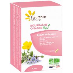 Fleurance Nature Bourrache Onagre Bio 60 gélules Complément alimentaire Santé Les Copines Bio