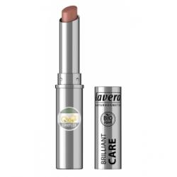 Lavera Brillant à lèvres Q10 Light hazel 08 1.7gr produit de maquillage minéral Les Copines Bio