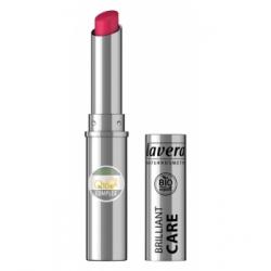 Lavera Brillant à lèvres Q10 Red cherry 07 1,7gr produit de maquillage minéral Les Copines Bio