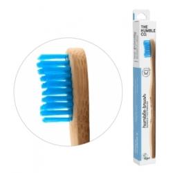 Humble Brush Brosse à dents adultes bleu Médium 15gr produit accessoire d'hygiène bucco-dentaire Les Copines Bio