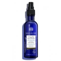Sanoflore Brumisateur à la véritable eau florale de Bleuet 200ml produit de soin pour le visage et les yeux Les Copines Bio
